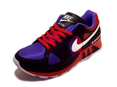 Nike Air Stab - Black / White / Varsity Purple / Carmine