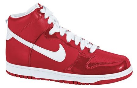 Nike Dunk High - Metallic Red