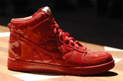 Nike Sportswear Dunk High - Quilted Patent and Polka Dot