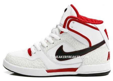Nike SB P-Rod II High - White / Red / Black / Cement