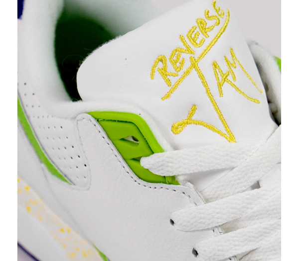 Reebok Reverse Jam Mid and Low White / Blue / Green / Yellow