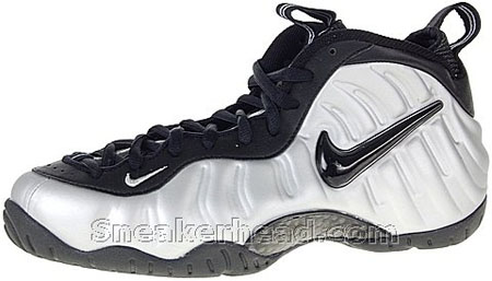 Nike Air Foamposite Pro - Metallic Silver
