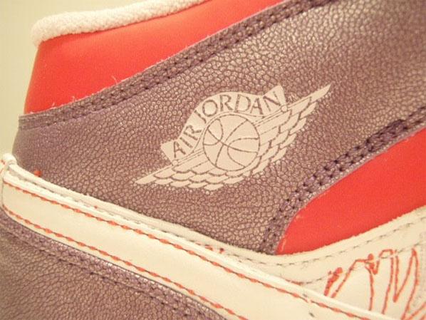 Air Jordan I (1) Mid Premium (GS) - Grey Violet / Sunburst / White