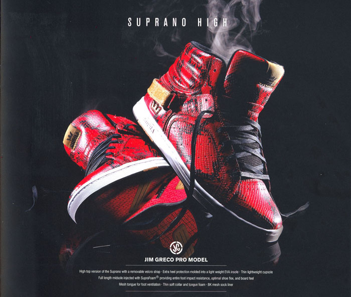 Supra Holiday 2008 Collection