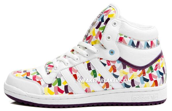 Adidas Top Ten Hi - Sleek and Tanabata