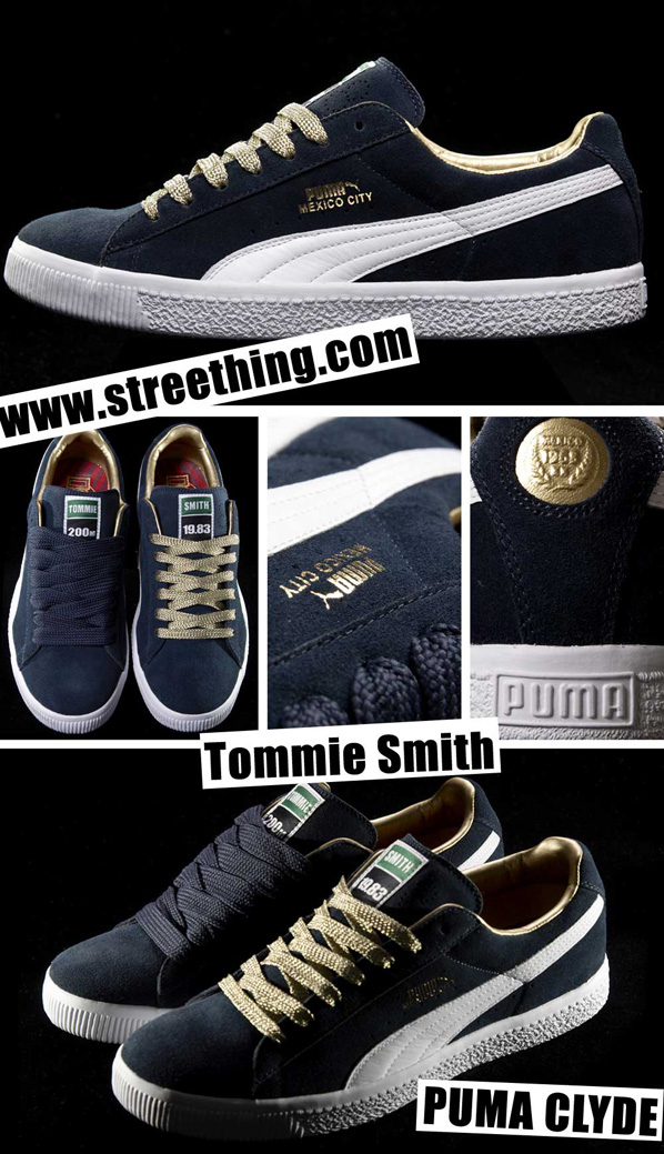 Tommie Smith x Puma Clyde Pack