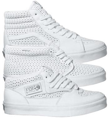 Vans Vault White Perf LX Pack