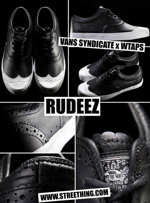 WTAPS x Vans Syndicate Rudeez