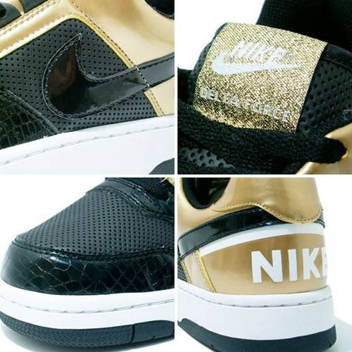 Nike Delta Force Low Black / Gold