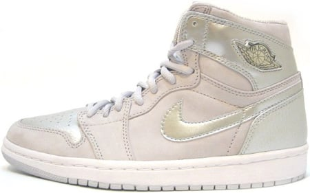 Air Jordan 1 (I) Retro Japan Neutral Grey / Metallic Silver