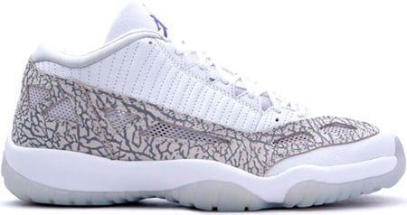 air jordan 11 retro low white/cobalt/gry