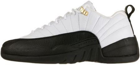 Air Jordan 12 (XII) Retro Low Taxi White   Black - Taxi  a7e17a04542d