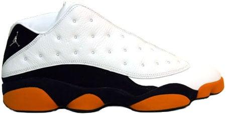 Air Jordan 13 Orange Blue
