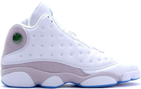 Air Jordan 13 (XIII) Retro White / Neutral Grey - University Blue