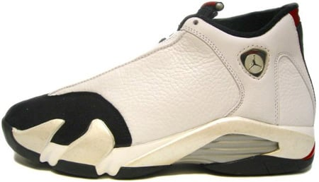 f8be8116d54626 Air Jordan Original - OG 14 (XIV) Black Toes White   Black - Varsity ...