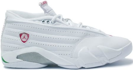 new concept 274d7 85bf3 Air Jordan 14 (XIV) Retro Womens Low White / Cerise ...