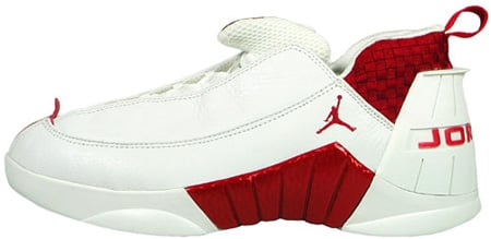 Air Jordan 15 (XV) Original - OG Low White / Deep Red