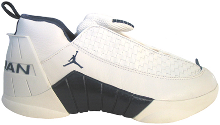 Air Jordan 15 (XV) Original - OG Low White / Midnight Navy