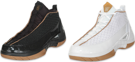 Air Jordan 15 (XV) SE Black and White Minors Gold Pack