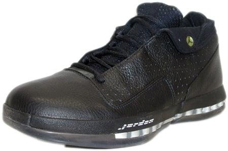 Air Jordan 16 (XVI) Original - OG Low Black / Black - Metallic Silver