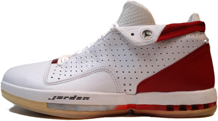 Air Jordan 16 Faible Blanc Rouge parfait Footlocker rabais RdhATunO
