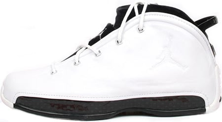 Air Jordan 18.5 (XVIII.5) Original – OG White / Black – Chrome