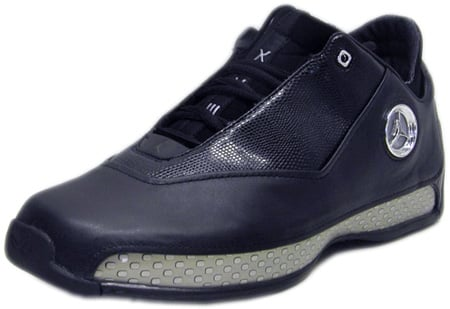 ebb23a84a045 Air Jordan 18 (XVIII) Original - OG Low Black   Metallic Silver - Chrome