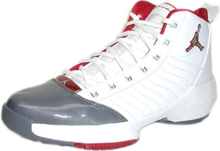 Air Jordan 19 (XIX) Original - OG SE East Coast White / Flint Grey - Deep Red