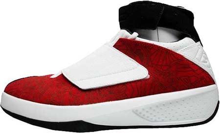 air jordan 20 black and red
