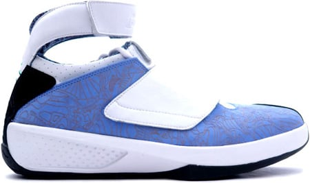 Air Jordan 20 (XX) Original - OG West Coast University Blue / White - Black