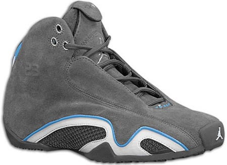 83dfb8ca200ece Air Jordan 21 (XX1) Original – OG Light Graphite   Metallic Silver   White    University Blue