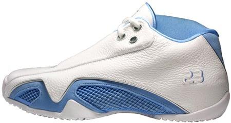 Air Jordan 21 (XX1) Original - OG Low White / University Blue - Metallic Silver