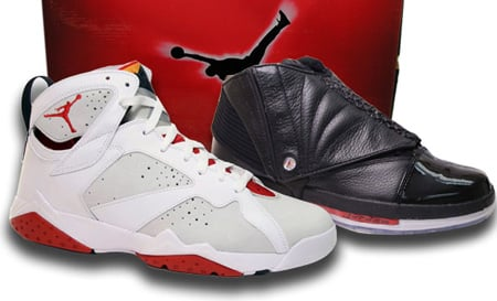 pretty nice 95656 b0157 Air Jordan 7 (VII) and 16 (XVI) Countdown Pack