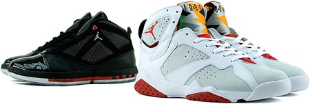 Release Date Reminder: Air Jordan 7 Hare and Air Jordan 16 Black / Red Countdown Pack