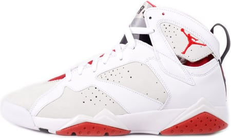 Air Jordan 7 (VII) Retro Hare White / Light Graphite - True Red Countdown Pack