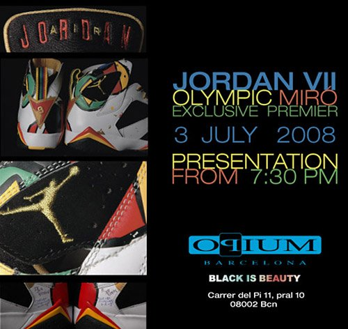 Air Jordan 7 (VII) Retro Miro - Olympic Collection