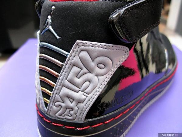 Air Jordan Force Fusion 20 (XX) Black / Varsity Red