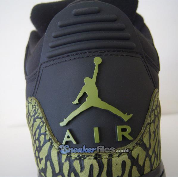 Air Jordan Force Fusion 3 (III) Black / Scenery Green Detailed Look