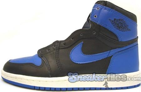 Air Jordan 1 (I) Original - OG Black   Royal Blue  845440cffc