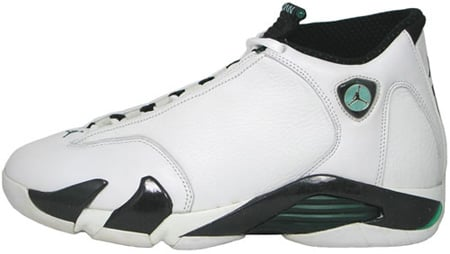 Air Jordan Original - OG 14 (XIV) Oxy White / Black - Oxidized Green