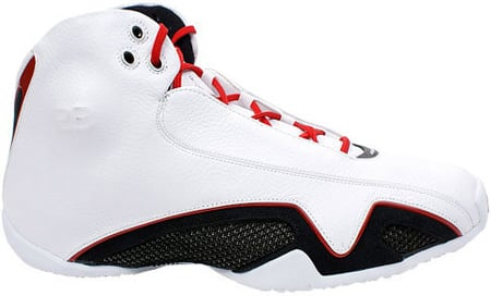 Air Jordan 21 (XX1) Original – OG White / Varsity Red – Metallic Silver