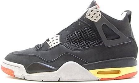 1989 Air Jordans Noir