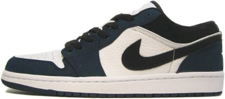 Air Jordan 1 (I) Retro Low White / Black – Midnight Navy