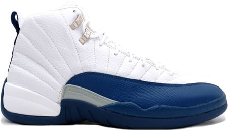 Air Jordan 12 (XII) Retro White / French Blue – Metallic Silver – Varsity  Red