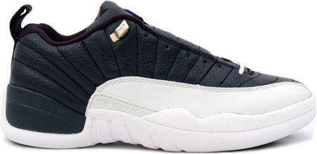Air Jordan 12 Xii Retro Low Obsidian University Blue