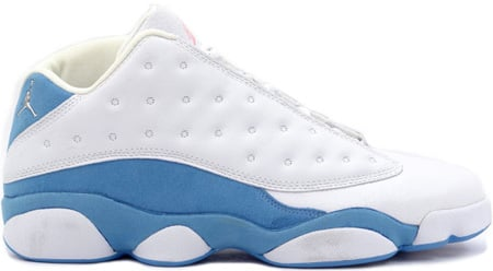 low priced 6678f 944bf Air Jordan 13 (XIII) Retro Womens Low White / Metallic ...