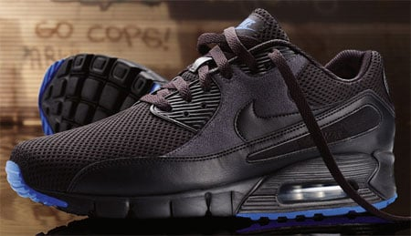Nike Air Max 90 Current - Black / Blue | SneakerFiles