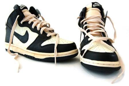 Nike Dunk High Vintage - Sail / Black