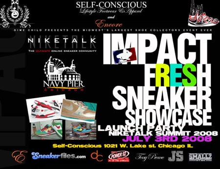Chicago Sneaker Showcase Launch Party and Midwest Niketalk Summit 2008