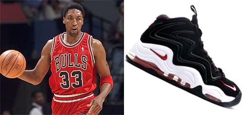 NBA Draft x Sneaker Files: Best Draft Picks of All Time Number 6 - Scottie Pippen